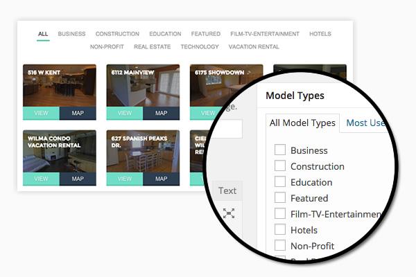 Matterport™ Models Filtering Tool
