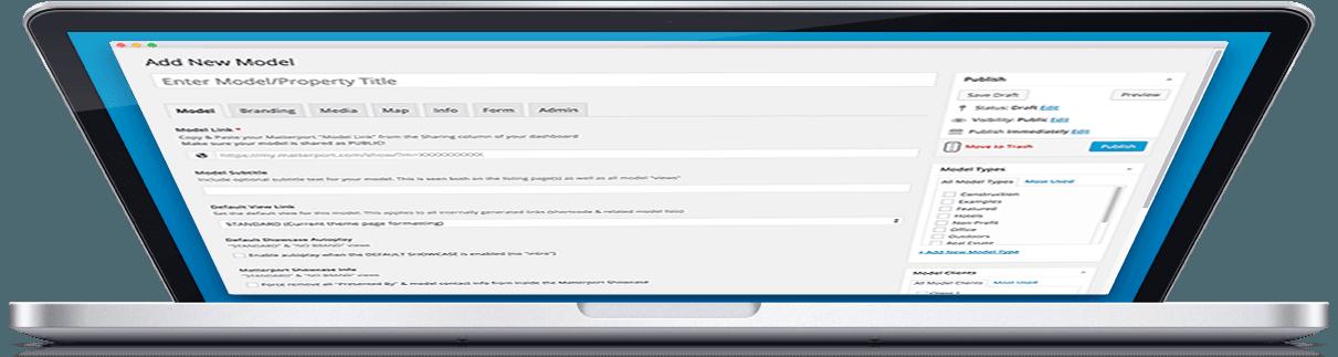 Matterport + WordPress Features
