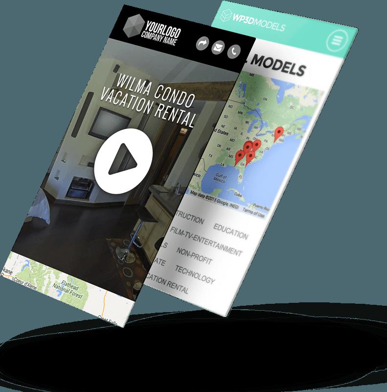 WP3D Mobile Screenshots