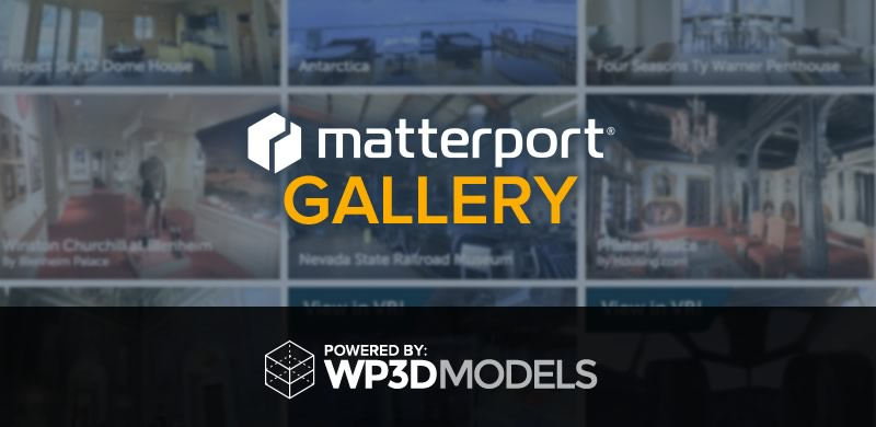 Matterport Gallery – powered by WP3D Models