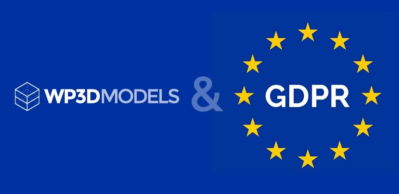 WP3D Terms, Privacy & GDPR Updates