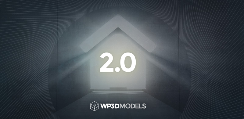 WP3D Models Version 2.0 – Available Now